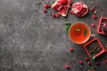 «Detox» ρόφημα με πράσινο τσάι και ρόδι
