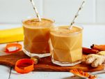 Golden milk, τώρα και σε smoothie! Σούπερ αποτοξινωτικό και αδυνατιστικό!