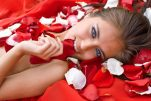 Μάσκα ομορφιάς από πέταλα τριαντάφυλλου