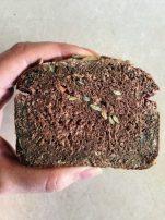 Πρωτεΐνικό ψωμί χωρίς γλουτένη! Τρως μισή φέτα και χορταίνεις!