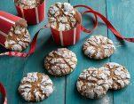 Τα καλύτερα Χριστουγεννιάτικα μπισκότα με τζίντζερ και κανέλα χωρίς ζάχαρη