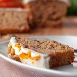 Κέικ καρότου ΧΩΡΙΣ ΖΑΧΑΡΗ – ιδανικό για πρωινό ή σνακ για το παιδί